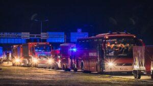 strażacy w Grecji fot. KG PSP