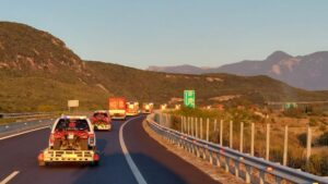 strażacy wracają z Grecji fot. KG PSP