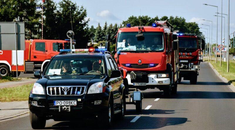 wielkopolscy strażacy przed wyjazdem do Grecji fot. KG PSP