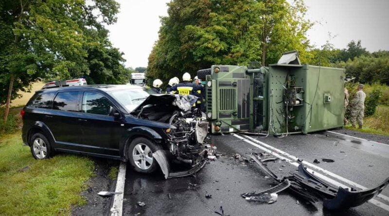 wypadek, Okuliniec fot. KPP Piła