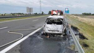 wypadek fot. OSP Łubowo