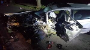 wypadek fot. policja Gniezno