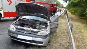 wypadek fot. policja, Piła
