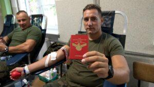 zbiórka krwi Zjednoczeni krwią fot 12WBOT