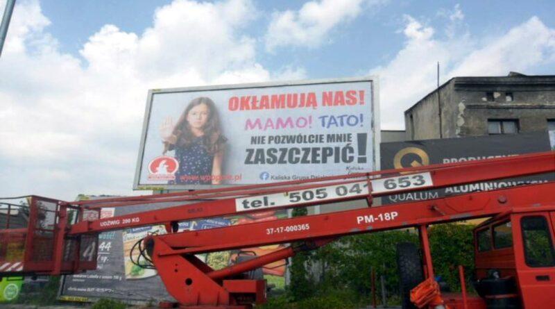 bilbord Kalisz fot. Wolna Polska Opole