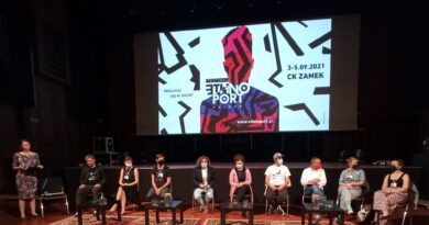 Ethno Port Poznań konferencja prasowa fot. L. Łada