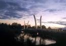 kładka przez jezioro Kórnickie, fot. Gmina Kórnik