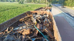 Nielegalne odpady Wielkopolska fot. WIOŚ