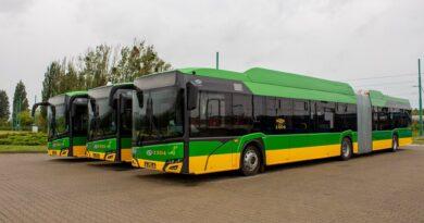 nowe autobusy elektryczne, fot. MPK Poznań