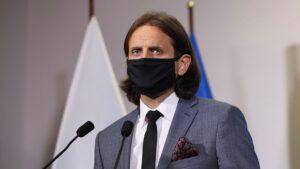 Piotr Bromber fot. Ministerstwo Zdrowia