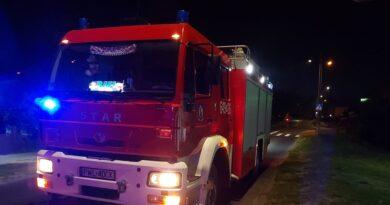 pożar fot. OSP Obra