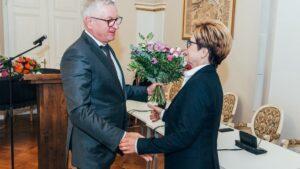pożegnanie Barbary Sajnaj fot. UMP