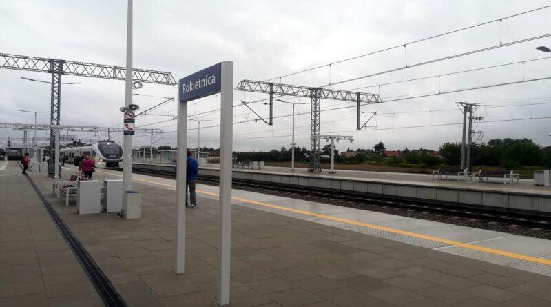 Rokietnica, przebudowana stacja fot. PKP PLK