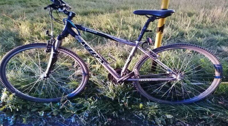 rower fot. policja Września