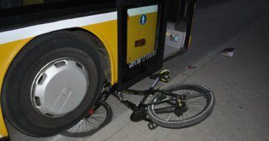rowerem w autobus fot. policja Pleszew