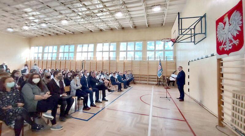 rozpoczęcie roku szkolnego, Zespół Szkół Budowlano-Drzewnych fot. ZSBD