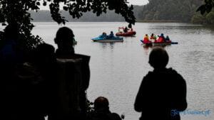 Rusałka - jezioro, które łączy - koncert na wodzie Rozrzucone kamienie aut. Maciej Muraszko fot. Sławek Wąchała