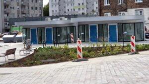 Rynek Łazarski, fontanna fot Mariusz Wiśniewski FB