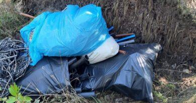 śmieci fot. policja Gniezno