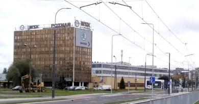 wieżowiec, Unii Lubelskiej fot. L. Łada