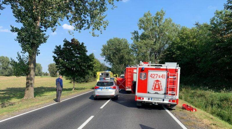 wypadek, archiwum, .fot. policja Gniezno