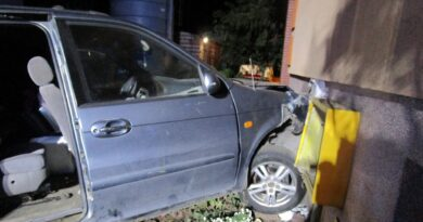 wypadek, Dziekanowice fot. policja Gniezno