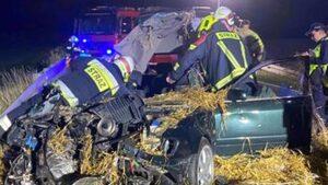 wypadek Falmierowo fot. OSP Wyrzysk