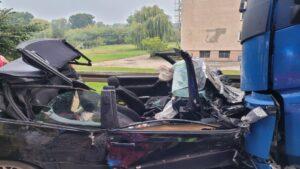 wypadek fot. policja Kościan