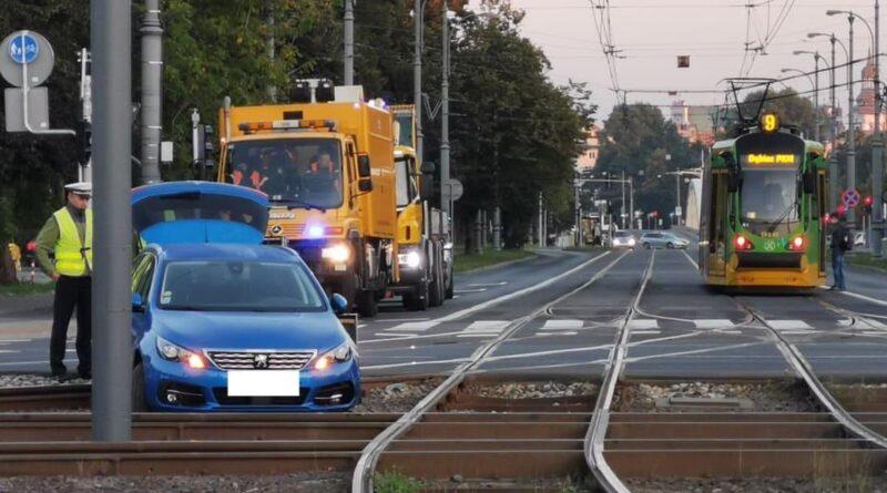 wypadek, Kórnicka fot. S. Wąchała