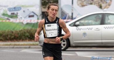 13. Półmaraton Poznań, 19-ty km, październik 2021 Sławek Wąchała
