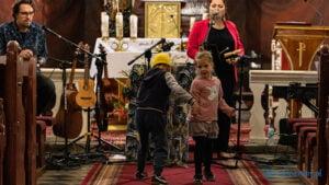 Muzyczna Jesień w Puszczy Zielonce - Uzarzewo GGDuo Gabi i Wojciech Gąsior fot. ZMPZ- Sławek Wąchała