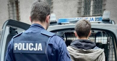 podpalenie fot. policja Piła