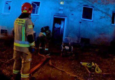 pożar fot. OSP Luboń