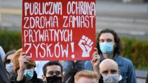 protest medyków fot. aga