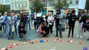 Stan Wyjątkowo Nieludzki, demonstracja fot. L. Łada