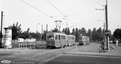tramwaj na Strzeleckiej ma 110 lat fot. MPK Poznań