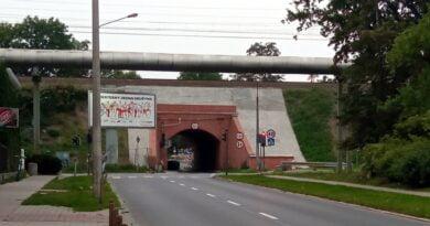 tunel, Kościelna fot. L. Łada