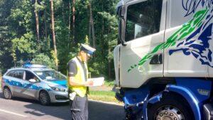 wypadek, Obrzycko fot. policja Szamotuły