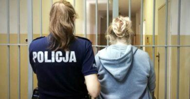 zatrzymana za rozbój fot. policja Piła